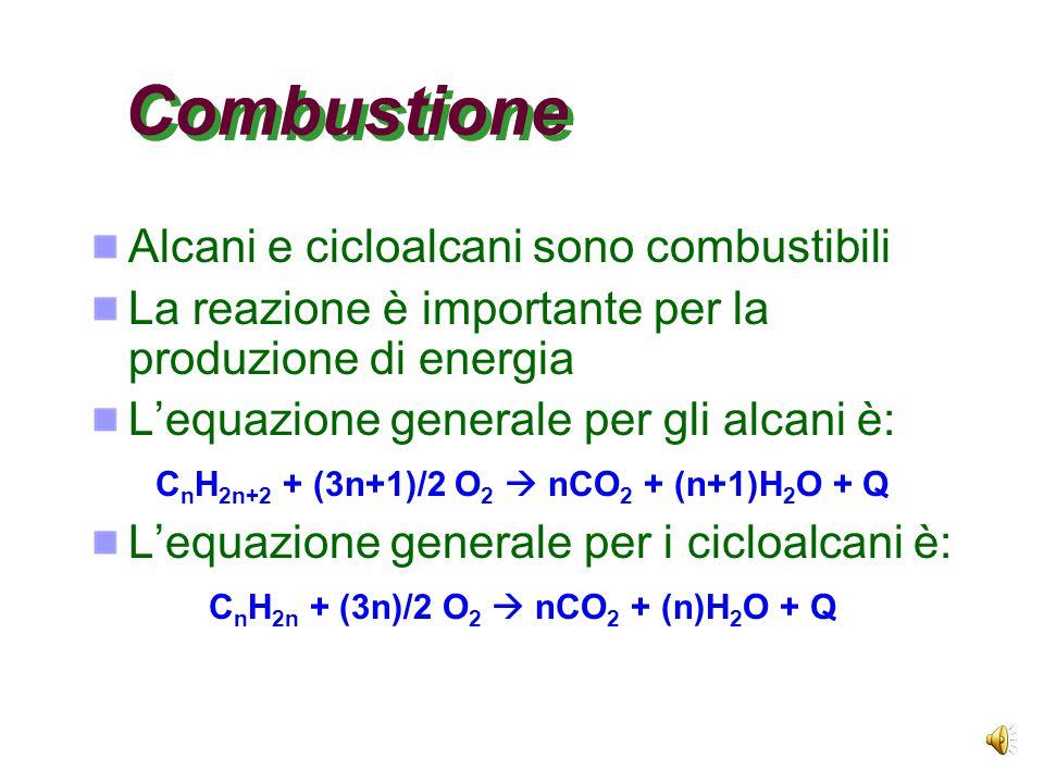 Un esempio Il bromo è molto selettivo e preferisce attaccare l'idrogeno sul carbonio terziario (99%) rispetto al primario (1%)