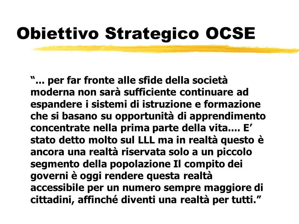 Obiettivo Strategico OCSE ...