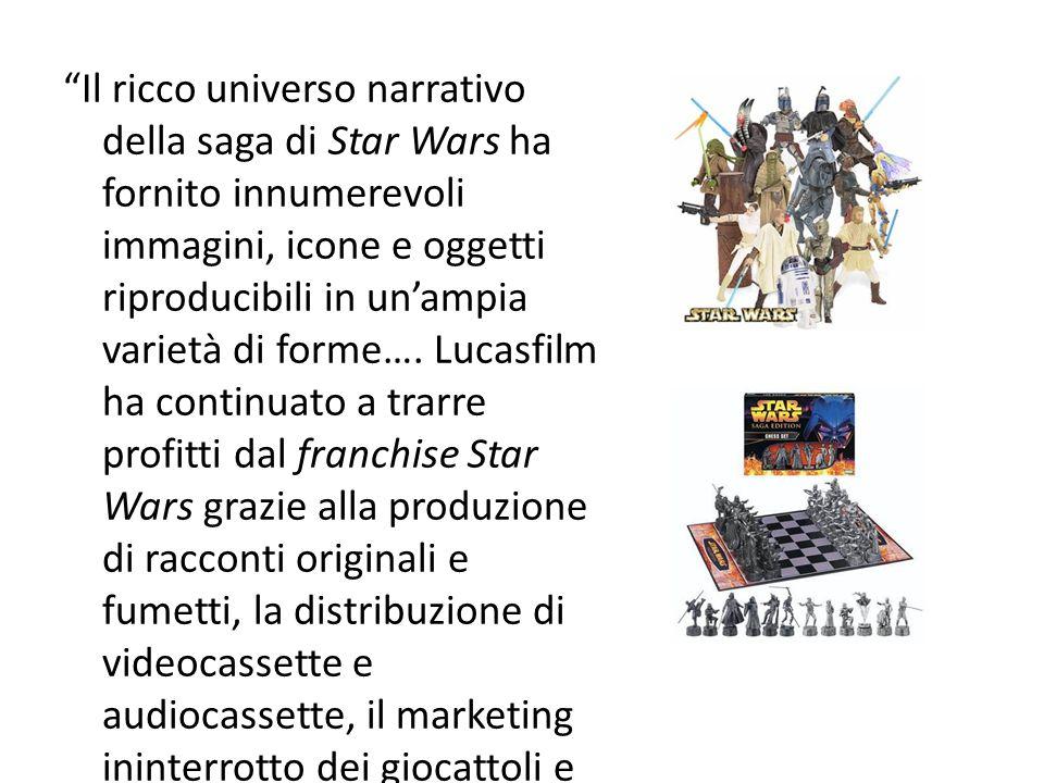 Il ricco universo narrativo della saga di Star Wars ha fornito innumerevoli immagini, icone e oggetti riproducibili in un'ampia varietà di forme….