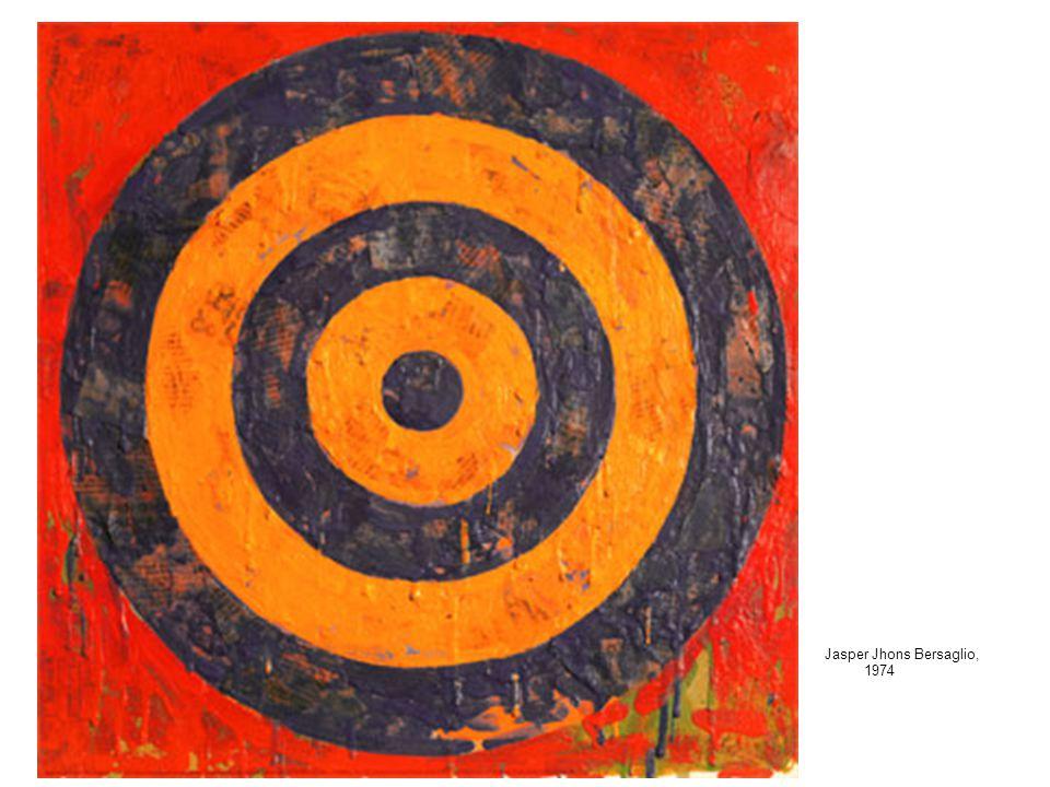 Jasper Jhons Utilizza intenzionalmente un soggetto banale tratto dalla vita quotidiana(bandiere, bersagli, numeri l'alfabeto). La sua è la poetica del