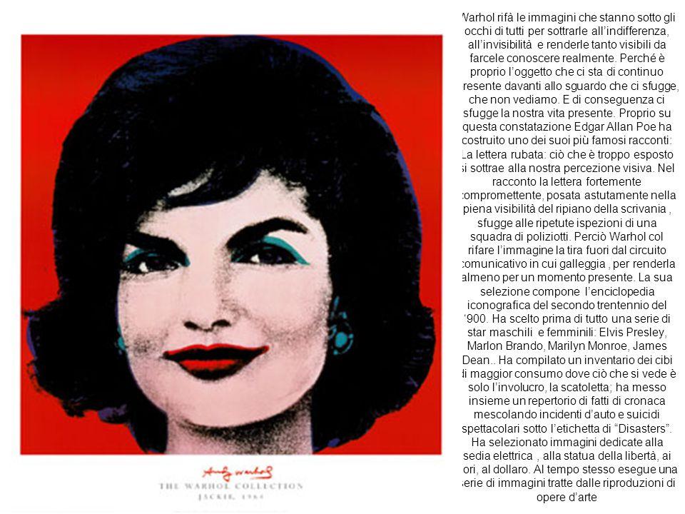 """Al principio degli anni Sessanta Warhol abbandona il suo lavoro di pubblicitario per mettersi a lavorare in proprio nella sua """"Factory"""" (prima sulla 4"""