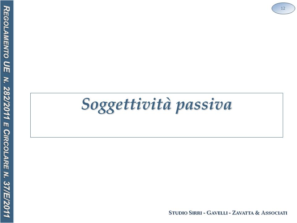 Soggettività passiva 12