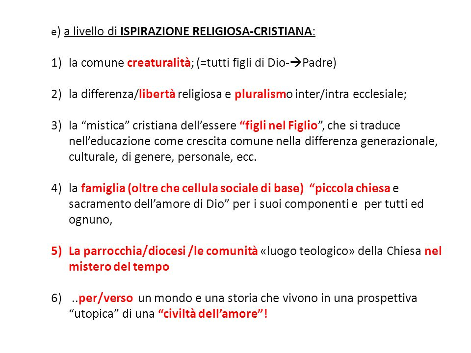 Conclusione: due icone «educative» 1.