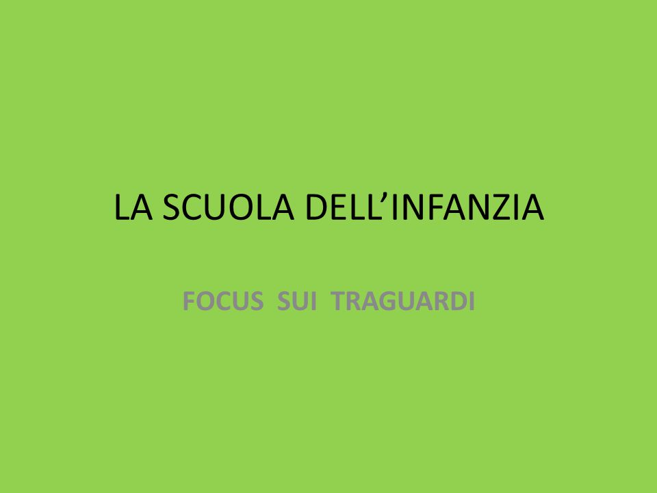 LINGUA ITALIANA Traguardi per lo sviluppo delle competenze al termine della scuola sec.