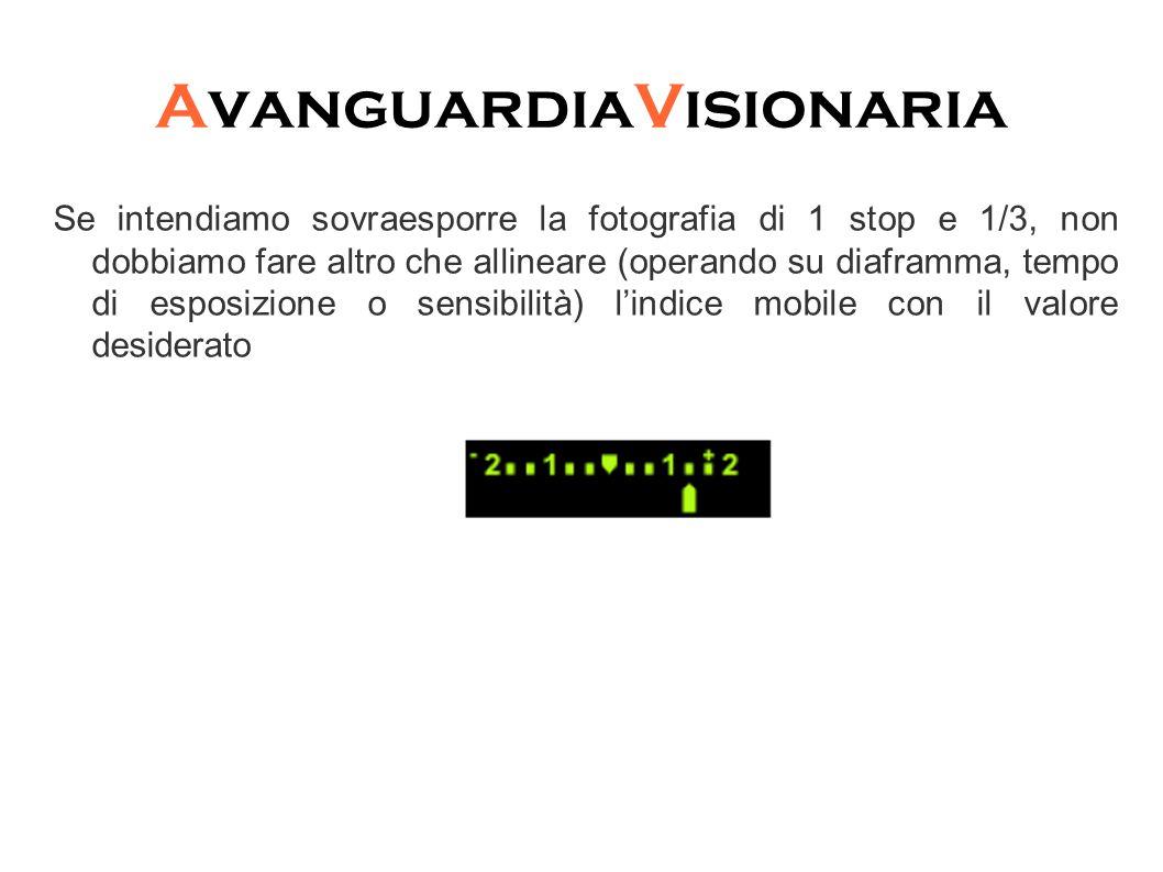 AvanguardiaVisionaria Similmente se vogliamo sottoesporre di 2 stop dobbiamo far coincidere l'indice mobile con il valore -2: