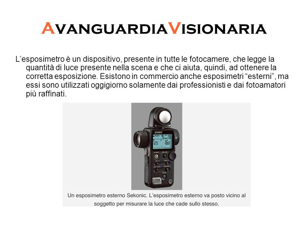 AvanguardiaVisionaria Gli esposimetri possono essere di due tipi: a luce incidente o a luce riflessa.
