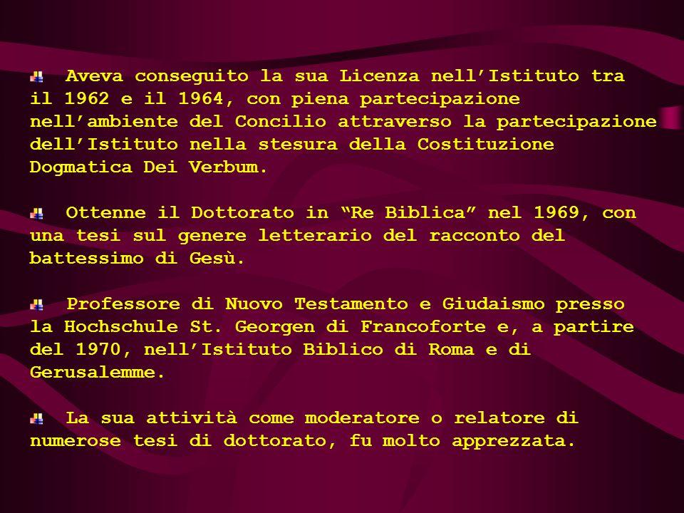 Nel 1989, P. Fritzleo Lentzen-Deis (1928-1993), con l'appoggio della sua famiglia, fonda l'Associazione Evangelium et Cultura, che ha la finalità di p