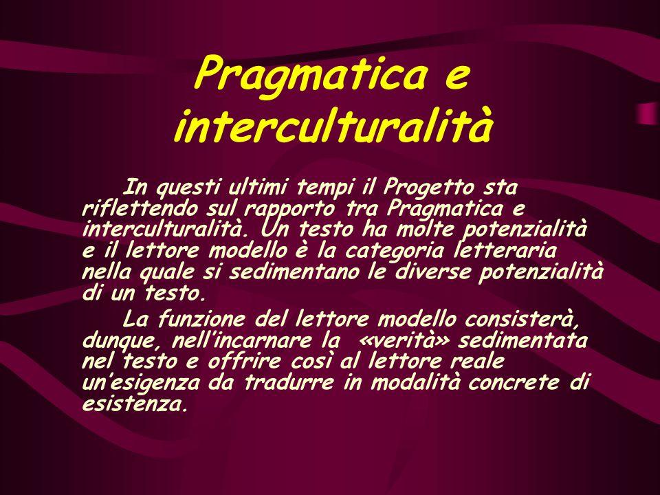 Gli atti linguistici La Pragmatica è il settore della scienza della comunicazione che si concentra sui segni linguistici come espressione dell'agire e