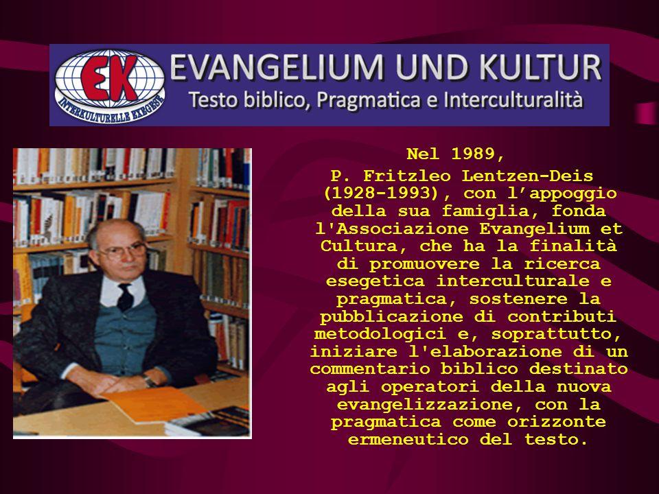 L' Istituto raggiunge la sua piena maturità con l'arrivo di quella primavera ecclesiale che è il Concilio Vaticano II. L'Associazione Evangelium et Cu