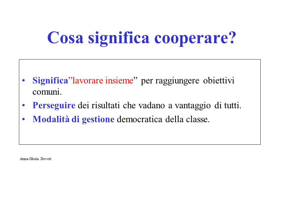 formazioneaggiornamentoassistenzaconsulenza esperti docentistudenti cooperazione nella didattica Anna Gloria Devoti