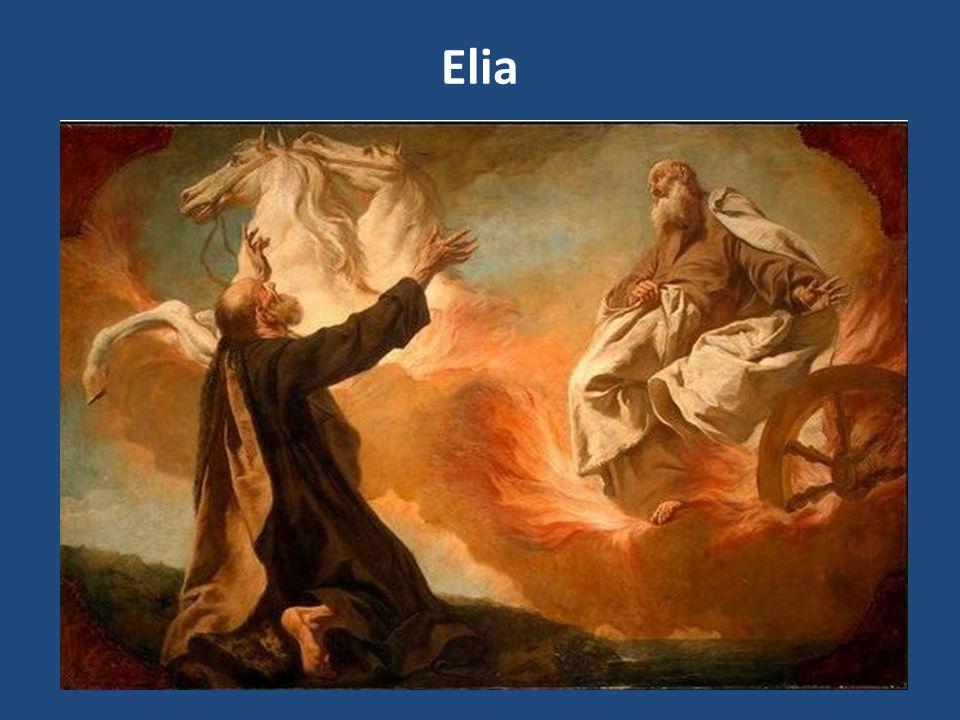 Elia visse in un periodo di tirannia spirituale e di terrore.