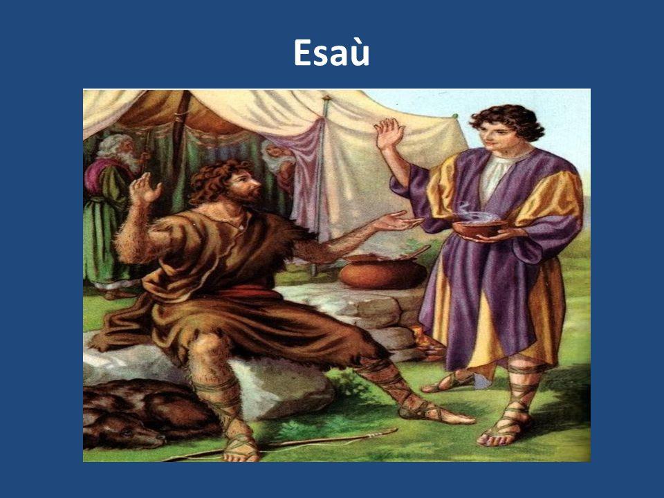 Personaggio della Bibbia (Genesi), figlio di Isacco e Rebecca.
