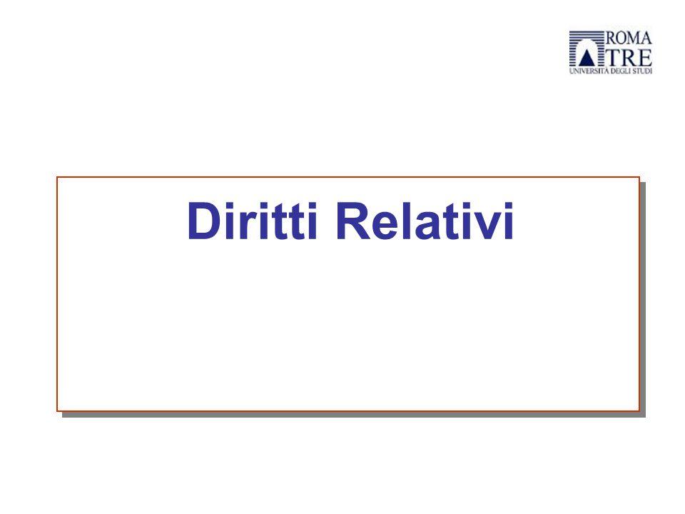 Diritti Relativi