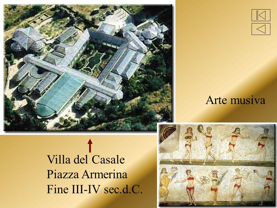 Villa del Casale Piazza Armerina Fine III-IV sec.d.C. Arte musiva