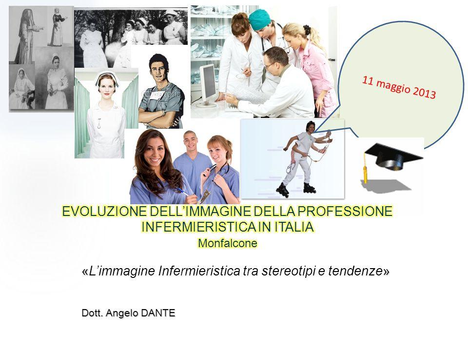 «» «L'immagine Infermieristica tra stereotipi e tendenze» Dott. Angelo DANTE 11 maggio 2013