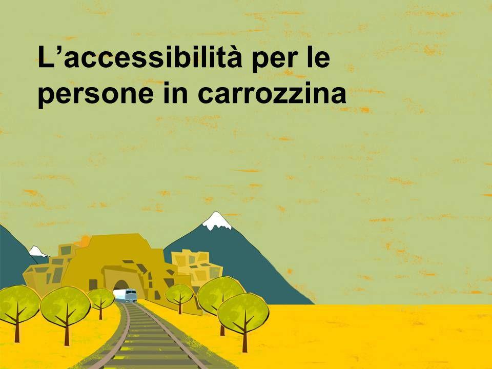 L'accessibilità per le persone in carrozzina