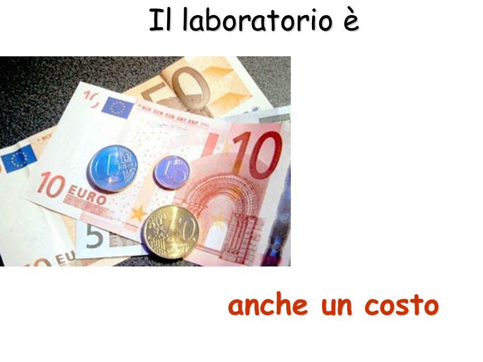 Il laboratorio è anche un costo