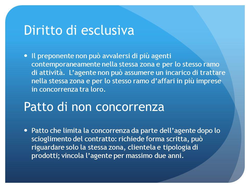 Diritto di recesso Recesso convenzionale: le parti hanno attribuito ad entrambi o ad una di esse la facoltà di recedere in un'apposita clausola del contratto.