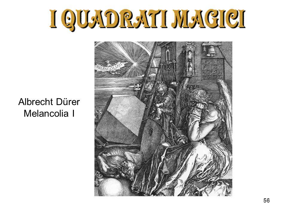 56 Albrecht Dürer Melancolia I