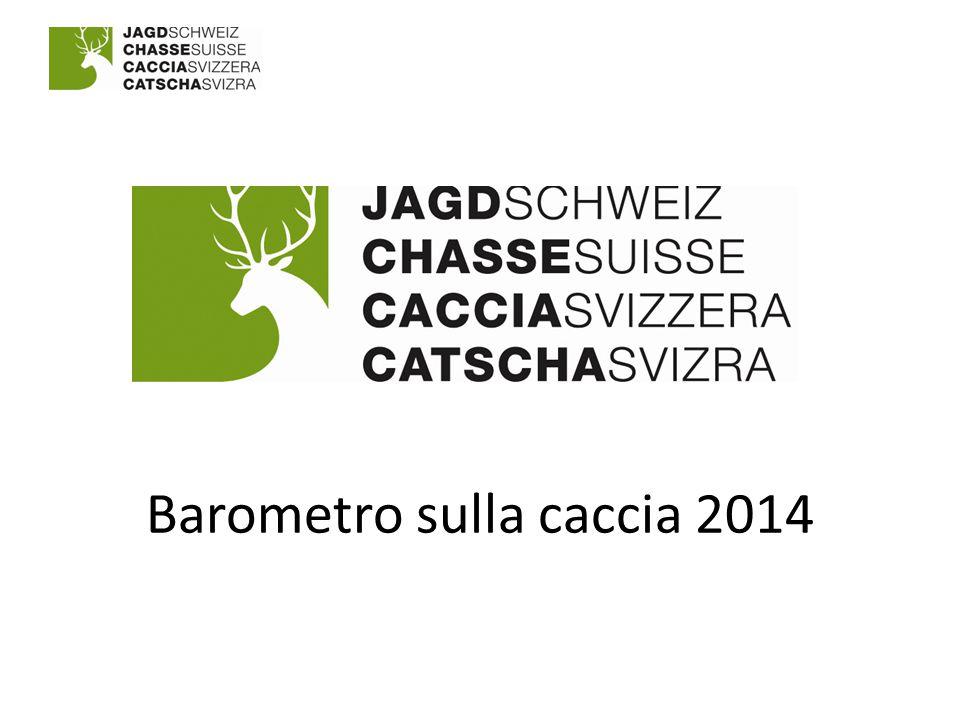 Barometro sulla caccia 2014
