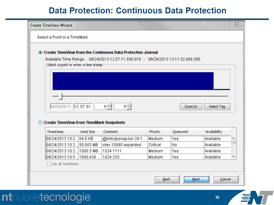 10 Data Protection: Continuous Data Protection