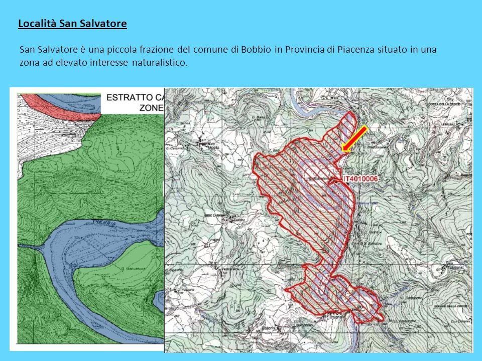 Località San Salvatore San Salvatore è una piccola frazione del comune di Bobbio in Provincia di Piacenza situato in una zona ad elevato interesse nat