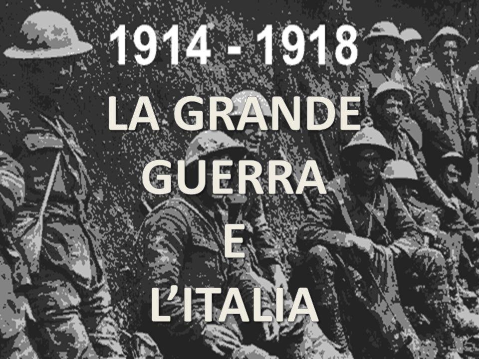 Cronologia del conflitto La cronologia riportata riguarda i momenti salienti della Grande Guerra LA GUERRA LAMPO (1914) L inizio della 1 guerra mondiale, pensata come una guerra lampo, avviene nel 1914.