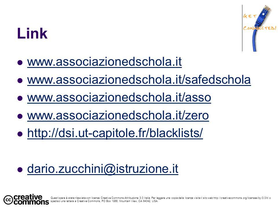 Link www.associazionedschola.it www.associazionedschola.it/safedschola www.associazionedschola.it/asso www.associazionedschola.it/zero http://dsi.ut-c