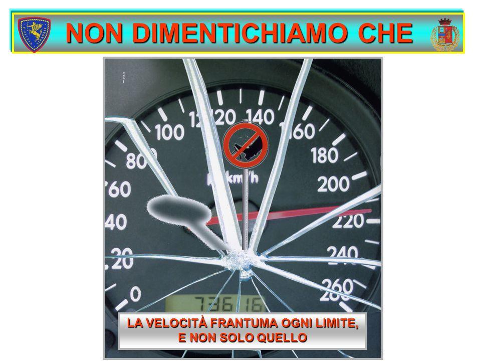QUINDI SI deve sempre rispettare il limite di velocità imposto e regolare lo stesso secondo le condizioni della strada, del traffico e del mezzo, senza dimenticare che la velocità massima prevista per un ciclomotore è di 45 km/h
