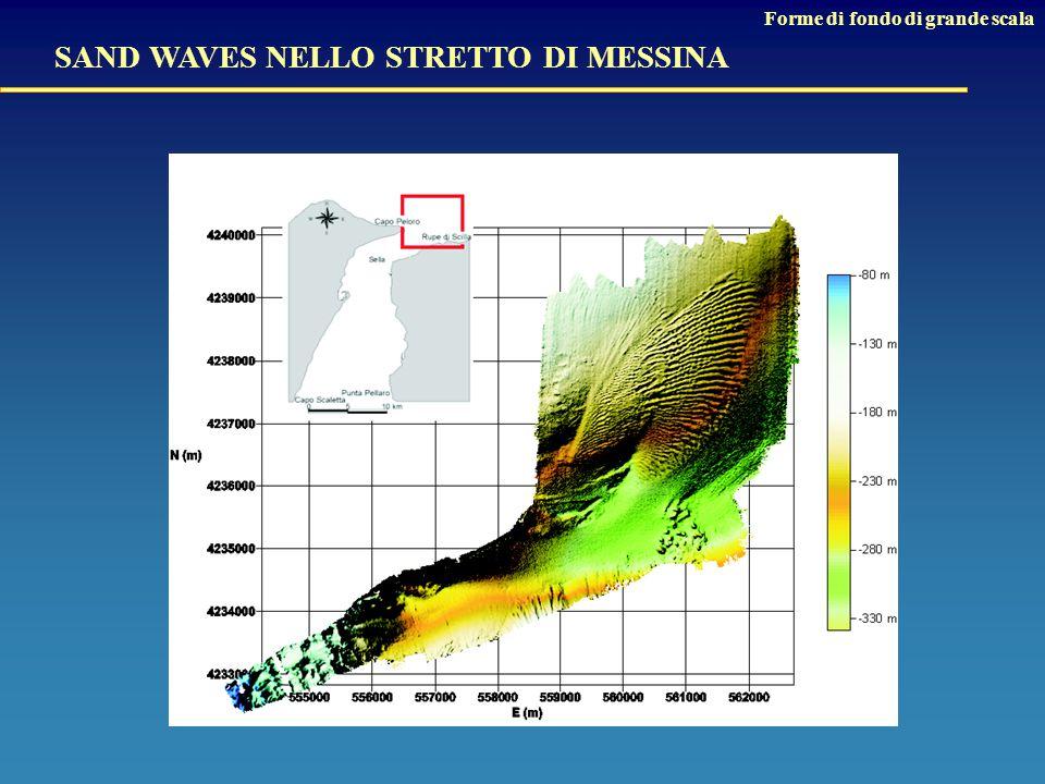 SAND WAVES NELLO STRETTO DI MESSINA Forme di fondo di grande scala