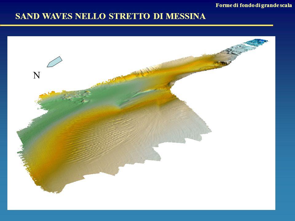 N SAND WAVES NELLO STRETTO DI MESSINA Forme di fondo di grande scala