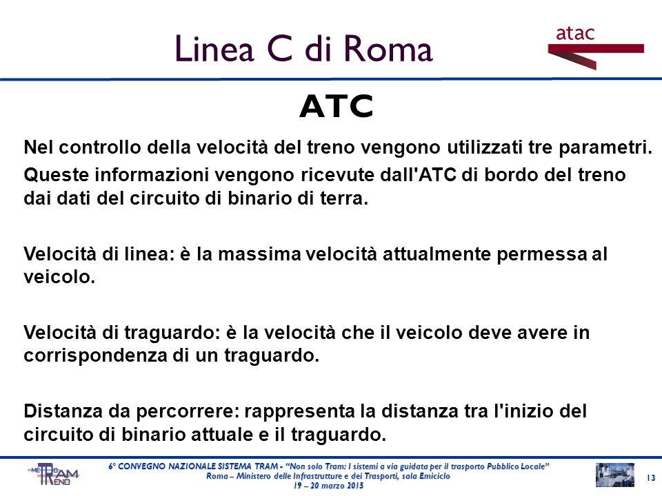 """ATC 13 6° CONVEGNO NAZIONALE SISTEMA TRAM - """"Non solo Tram: I sistemi a via guidata per il trasporto Pubblico Locale"""" Roma – Ministero delle Infrastru"""