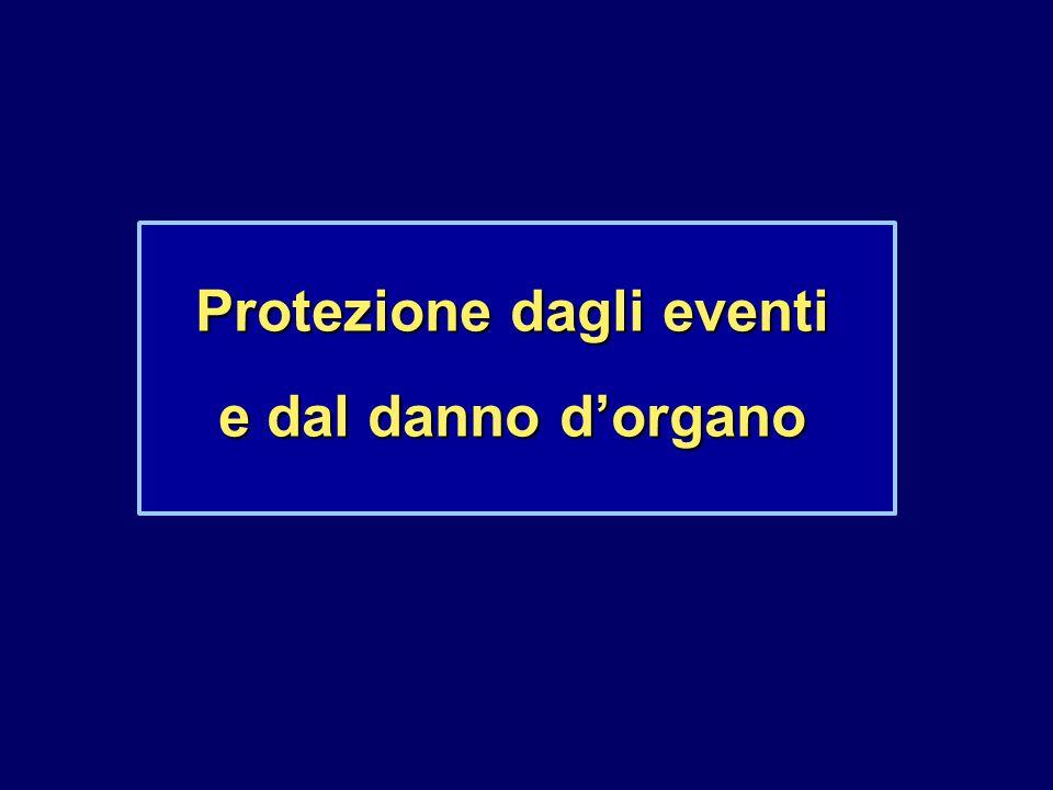 Protezione dagli eventi e dal danno d'organo