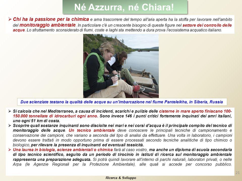 21 Né Azzurra, né Chiara.
