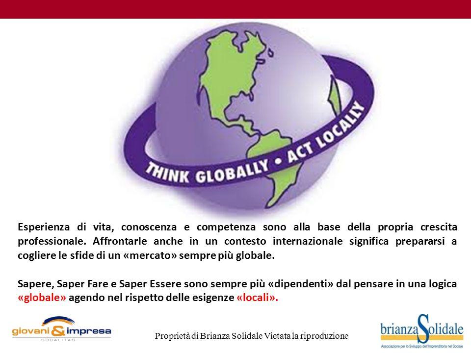 Proprietà di Brianza Solidale Vietata la riproduzione Servizio civile internazionale 16 E' un periodo di volontariato all'estero I periodi di servizio variano notevolmente da progetto a progetto.