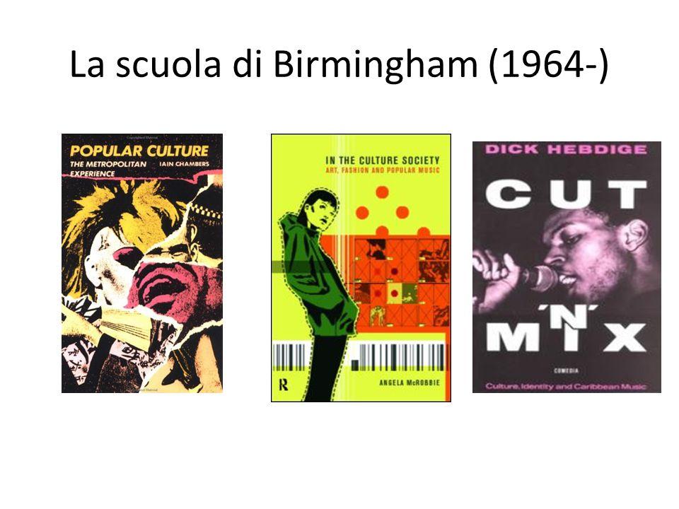 La scuola di Birmingham (1964-)