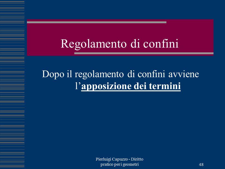 Pierluigi Capuzzo - Diritto pratico per i geometri 47 Attore e convenuto Attore: colui che intraprende l'azione per veder riconosciuto un diritto cont