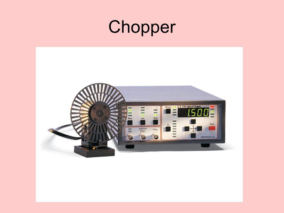Amplificatore Lock-in e chopper