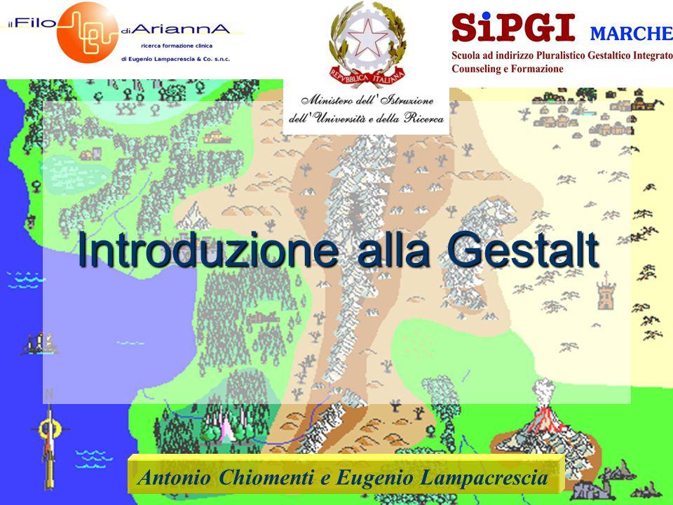 Antonio Chiomenti © 2002 - 2005 Introduzione alla Gestalt Antonio Chiomenti e Eugenio Lampacrescia Introduzione alla Gestalt