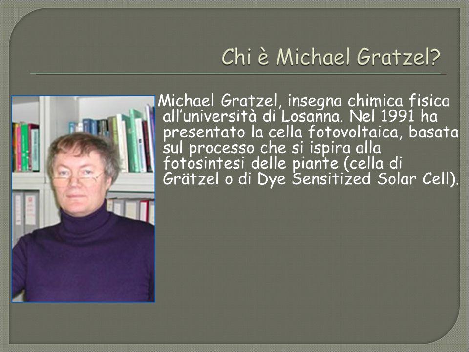Michael Gratzel, insegna chimica fisica all'università di Losanna.