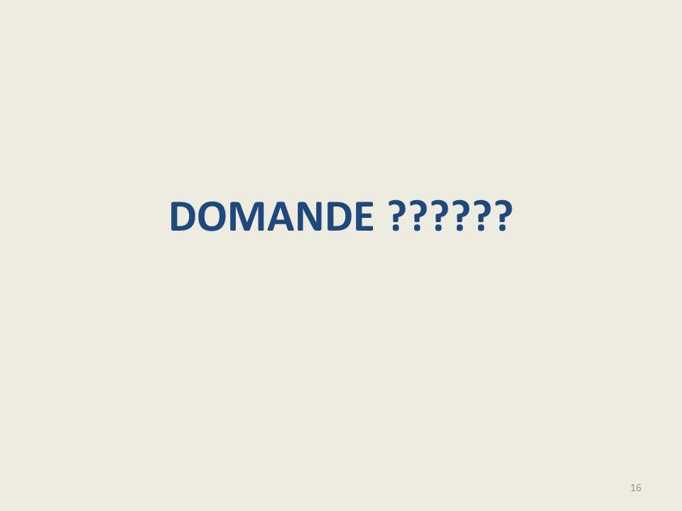 DOMANDE ?????? 16