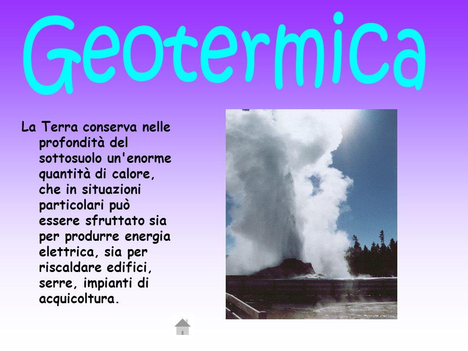 La Terra conserva nelle profondità del sottosuolo un'enorme quantità di calore, che in situazioni particolari può essere sfruttato sia per produrre en