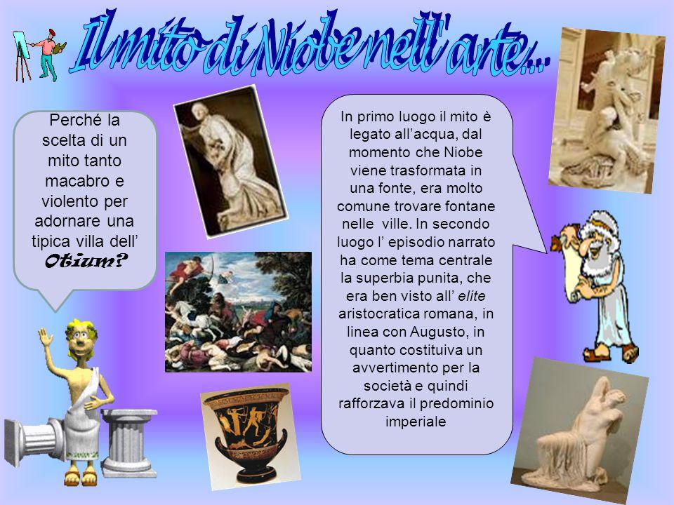 Questo mito è così straziante che nell'antichità greca e romana è stato spesso fonte di ispirazione per gli artisti. Le 7 statue ritrovate nella villa
