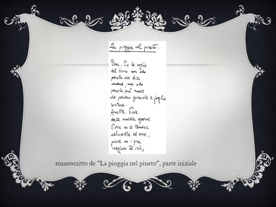 manoscritto de