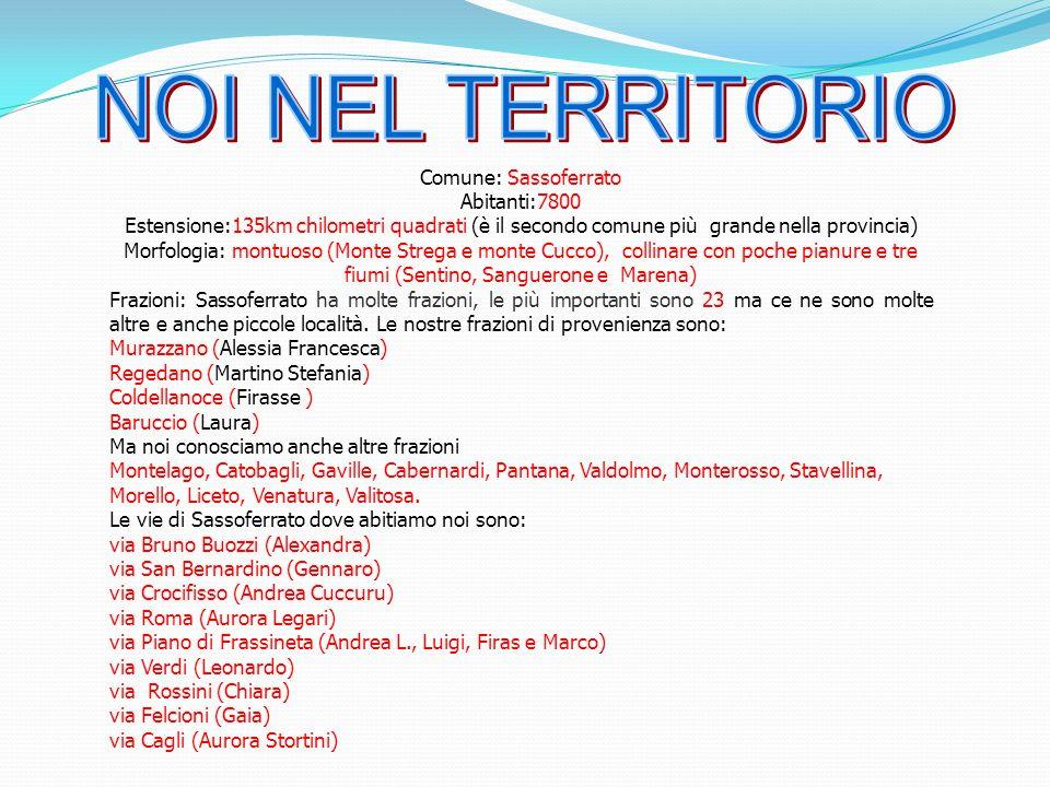 Comune: Sassoferrato Abitanti:7800 Estensione:135km chilometri quadrati (è il secondo comune più grande nella provincia) Morfologia: montuoso (Monte S