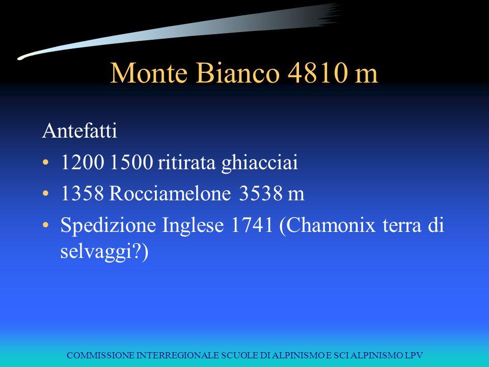 COMMISSIONE INTERREGIONALE SCUOLE DI ALPINISMO E SCI ALPINISMO LPV Alpinismo extra europeo Nanga Parbat versante Rupal Mummery 1895 (salito dai fratelli Messner nel 1970) Nanga Parbat Welsemback 1934