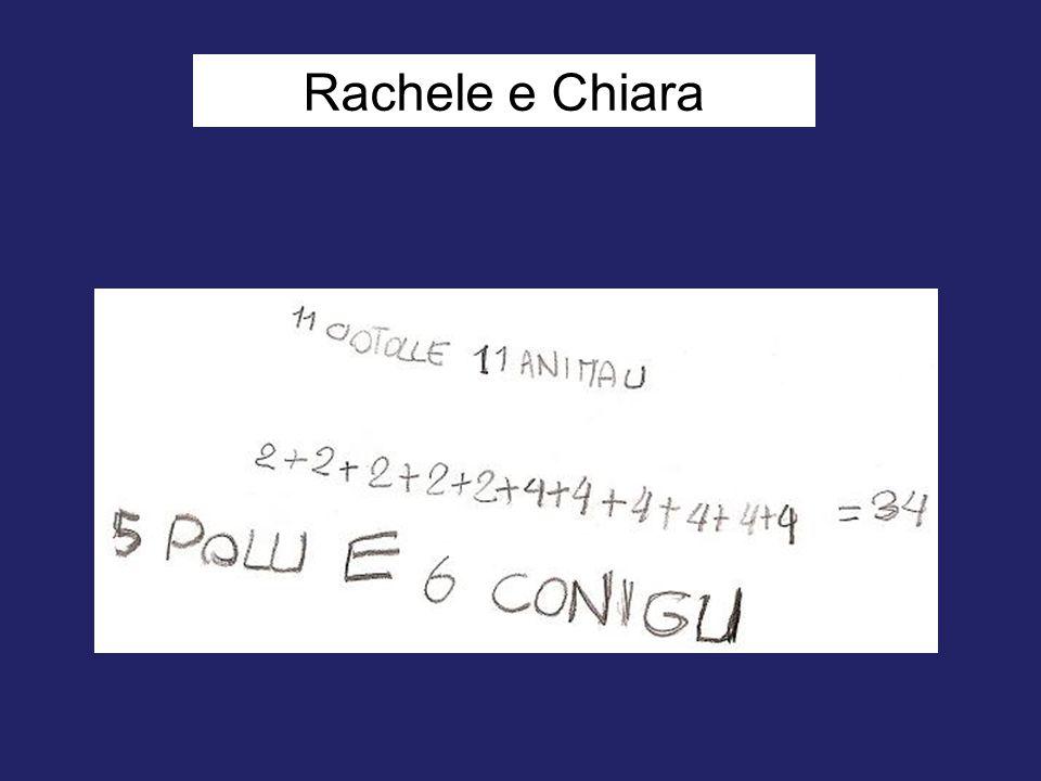 Rachele e Chiara