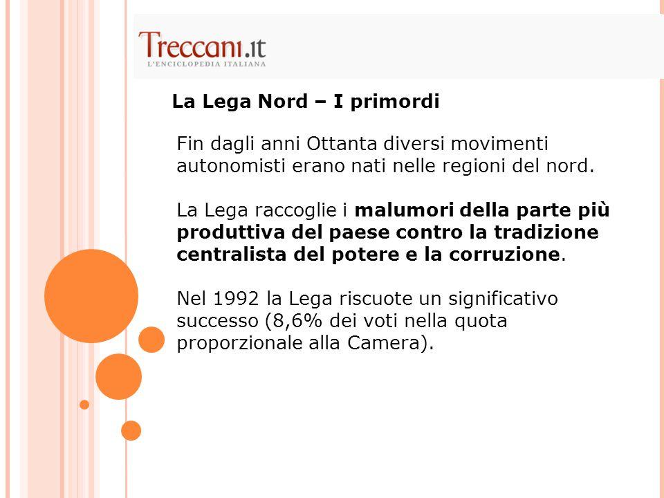 L'opposizione a Berlusconi indebolita da dissidi interni e personalismi  scissioni politiche  la caduta dei due governi Prodi.