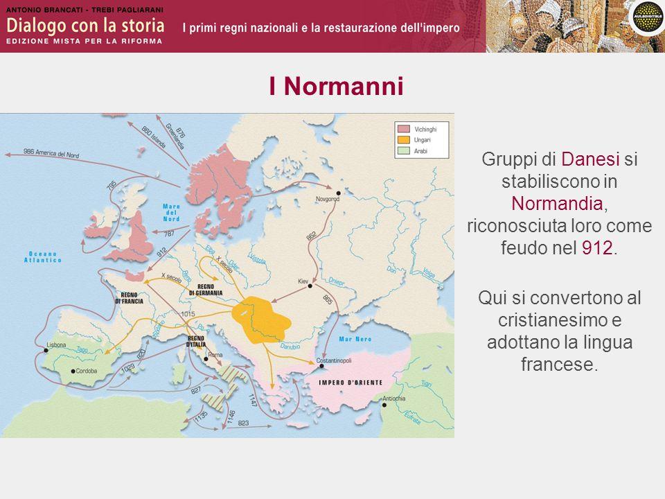 I Normanni Dalla Normandia, i Normanni partono alla conquista dell'Inghilterra, guidati da Guglielmo il Conquistatore.