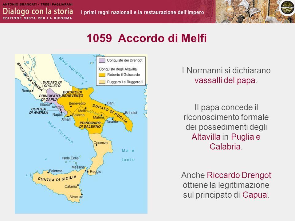 Roberto Altavilla conquista i restanti territori del Sud Italia.